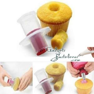 cortador rellenos cupcak