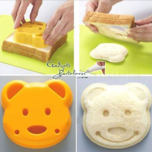 molde sandwich oso