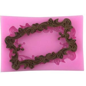 molde silicona marco