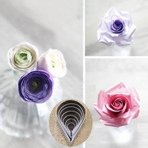 producto terminado cortadores petalos rosas