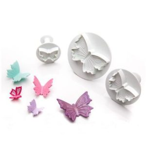 set x 3 cortadores mariposa