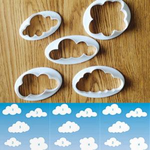 cortadores nubes set x 5