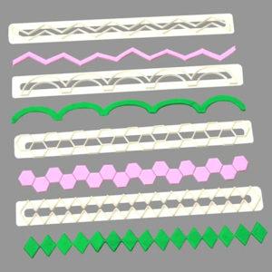 regletas cortadores geometricas