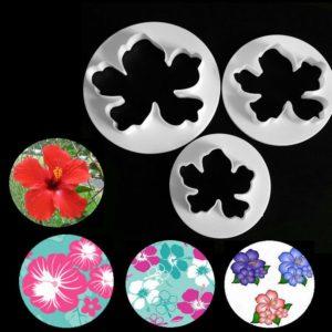 set cortadores flor hawai