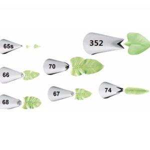 boquillas hojas x 7 gp