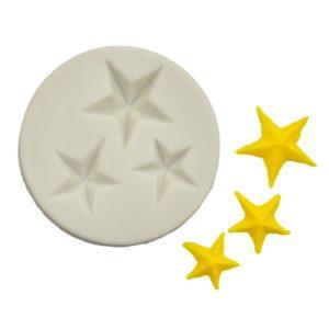 molde estrellas 5 puntas