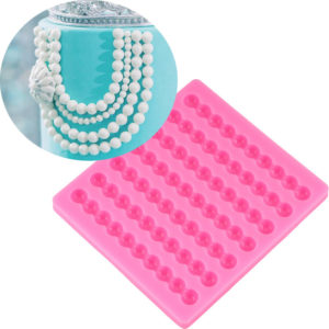 molde perlas fondant