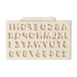 molde silicona mayusculas mini