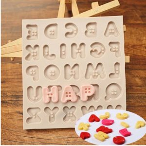 molde abecedario silicona botones gadgets pasteleros