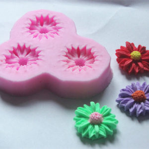 molde mini flores