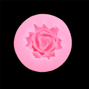 molde silicona mini rosa 3d gadgets pasteleros