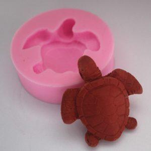 molde silicona tortuga pequeña