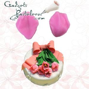 texturizador tulipanes gadgets pasteleros