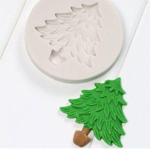 molde silicona arbol navideño