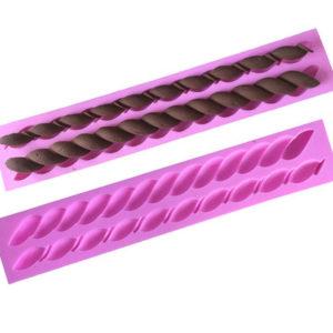molde silicona cordones redondos gadgets pasteleros