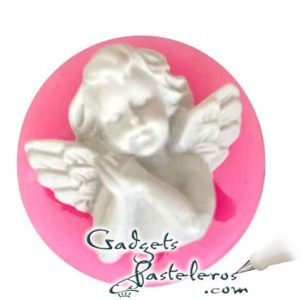 molde silicona angels