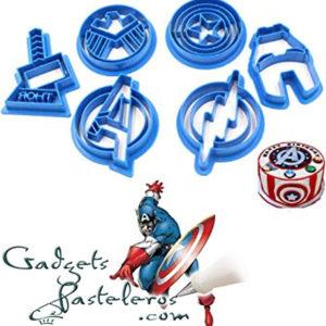 Cortadores superheroes 1 GAdgetspasteleros