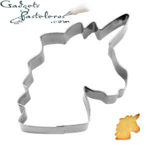 cortador unicornio cabeza