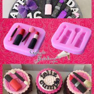 cupcakes maquillaje gadgets pasteleros.com