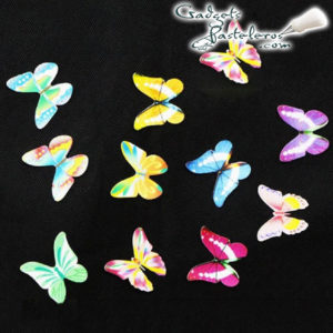 mariposas papel comestible