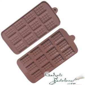 molde silicona mini tabletas