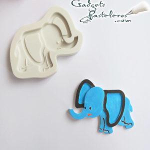 molde elefante diseño terminado