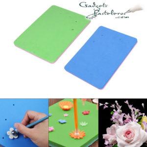 esponja para flores