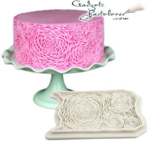 molde tematico rosa loto