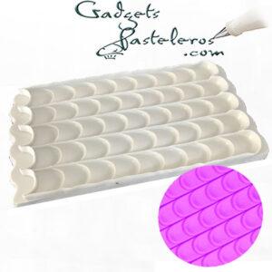 molde silicona tematico punta espatula