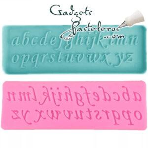 alfabeto cursiva