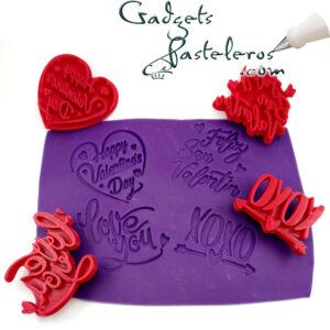 diseño sellos valentin