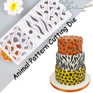 regleta texturas animal print