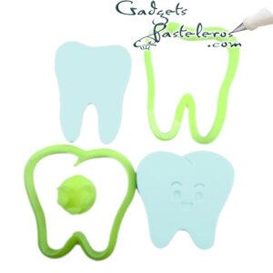 design set cortador diente
