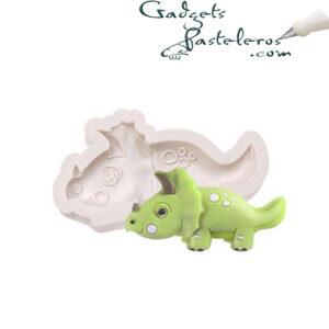 Molde silicona dinosaurio 03