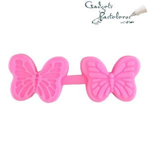 sello silicona mariposa